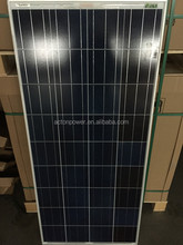 Poly 150W solar panel stock at lowest price sell