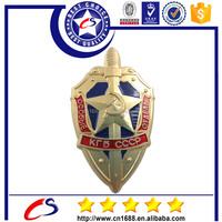 2015 popular customized logo metal military badge emblem