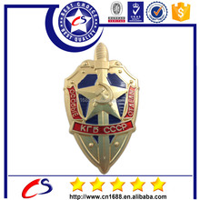 2015 popular customized logo metal military badge emblem