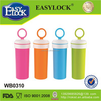 Manufacturer BPA free PP plastic airtight smart water bottle sizes