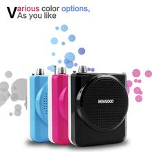 F71 Altavoz Con Micrófono Amplificador de Voz Booster Megáfono Altavoz Para MP3 Guía Didáctica información Promoción de Ventas