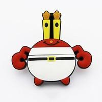 Crab shaped usb flash drive pen drive udisk/u disk