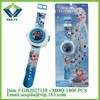 Electric toys for kid educational frozen projection toys electronic watch
