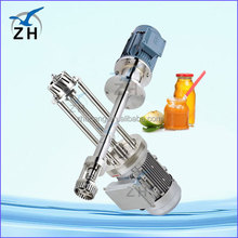 food grade chemical high shear mixer batch production stainless steel mixer
