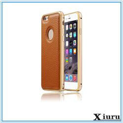 2015 new arrival hot selling universal two mobile phone leather case for iphone 6