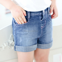 20186 chinese clothing manufacturers panties for little girls children's summer casual jeans children shorts