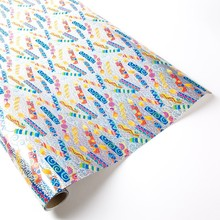 HOT ! Glossy foil lamination gift Wrapping art Paper Wholesale