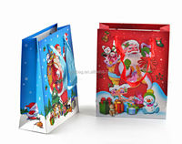 Handled OEM large paper shopping bags