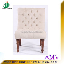 Amercian Style Fabric Leisure Chair and Single Sofa Chair,Vintage Chair without armest For Sale