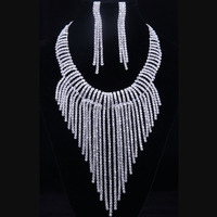 diamond kundan polki bridal necklace set