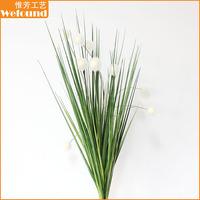 WEFOUND WF112948 cheaper sale artificial onion grass bush for indoor table decoration