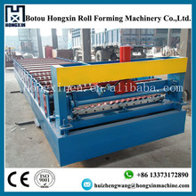 corrugated steel metal roofing sheet rolling forming plant low price supplier
