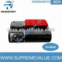 HD G-sensor GPS dual camera 1080p mini car dvr blackvue dr400g-hd ii