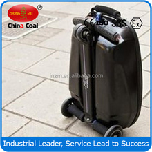 business travel luggage suitcase scooter with CE