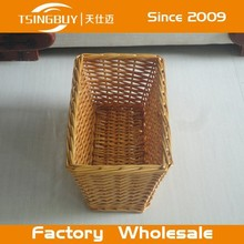 High quality 100% natural handmade decorative storage wicker bicycle basket