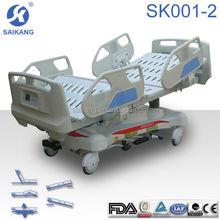 Hospital electric ICU medical bed names of medical instruments