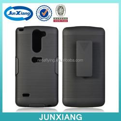 Alibaba wholesale belt clip holster combo case for LG G3 stylus D690