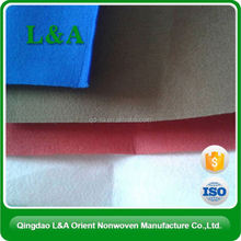 100% polyester &polypropyleneNeedle punched non woven felt for Bags/Car decoration/Sofa interlining/Kids DIY/Matress/Geotextile