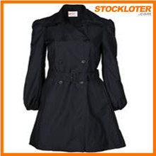 Fashion Design Ladies Trenchcoat Readymade Coat Order Cancelled Shipment 150304-3