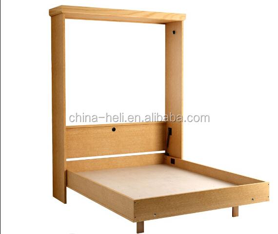 Lit Bebe Bois Palette : moderne en bois massif lit escamotable-Literie-ID de produit