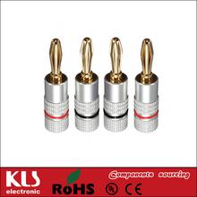 Good quality banana wire connectors 2mm UL CE ROHS 702 KLS
