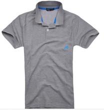 breathable OEM men gray healthy work uniform polo shirt