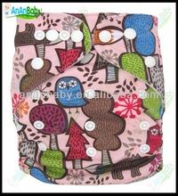 Wholesale Printed All In One Kawaii Sleepy Baby Diapers Eve Baby Diapers