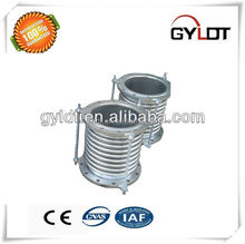 Reinforced Corrugated Stainless Steel Metal Bellows Pipe Compensator