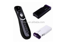 T2 2.4G Air Mouse Android TV BOX, PC, media player 3D motion stick Android remote function for T2 fly air mouse