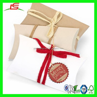 N558 Fantastic Quality Large Recycle Paper Kraft Pillow Box