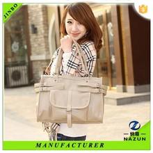 Manufactory self-supporting casual women waterproof tote bag