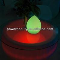 polyethylene illuminated bar interactive led bar coffee table