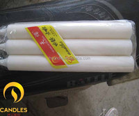 90g Good Quality Decorative White Candles to Africa