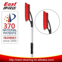 snow brush with water blade for car cleaning