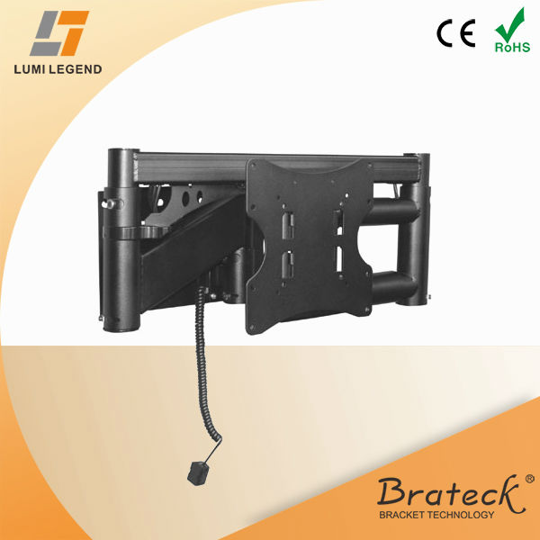 Remote control electric tv wall mount buy electric tv for Motorized full motion tv wall mount