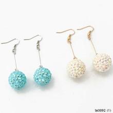 YIWU New Desingn Fashion Spherical Pendant Ball Dangle Earrings