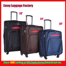 New Design Leisure Style 1680D Trolley Luggage