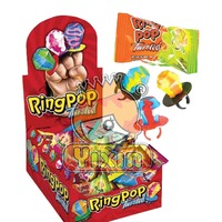 Colorful Ring pop candy