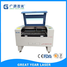 GY-9060S ,900*600mm,Co2 laser ,laser machinery for fabric,leather cutting and engraving machine