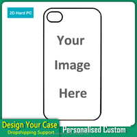 Custom Designs Cell Phone case Sublimation Design Phone Case for iPhone 4 4s