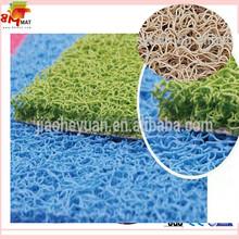 Floral monogram personalized door mat