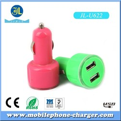 Hot new product car accessories dual usb car charger for cheap goods from china factory