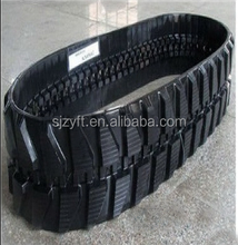 China spare parts pc50 rubber track, used in excavator