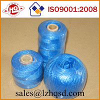China supplier colorful pp film string pp twine