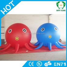 HI Top sale funny inflatable helium balloon,large blimp,animal walking helium balloon