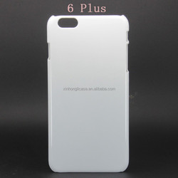 wholesale alibaba OEM 3D Sublimation blank case for iphone 6 plus