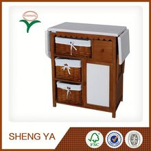 Wicker Furniture With Ironing Board Made In China