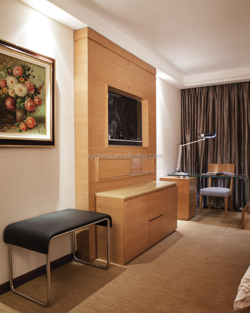 Used Hotel Bedroom Furniture For Sale With Tv Panel Xy pt