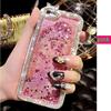 golden supplier for Diamond bling crystal drnamic liquid phone case