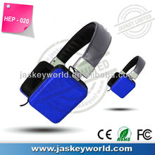 HED-020 Fashion Performance wired headphones with Factory Price